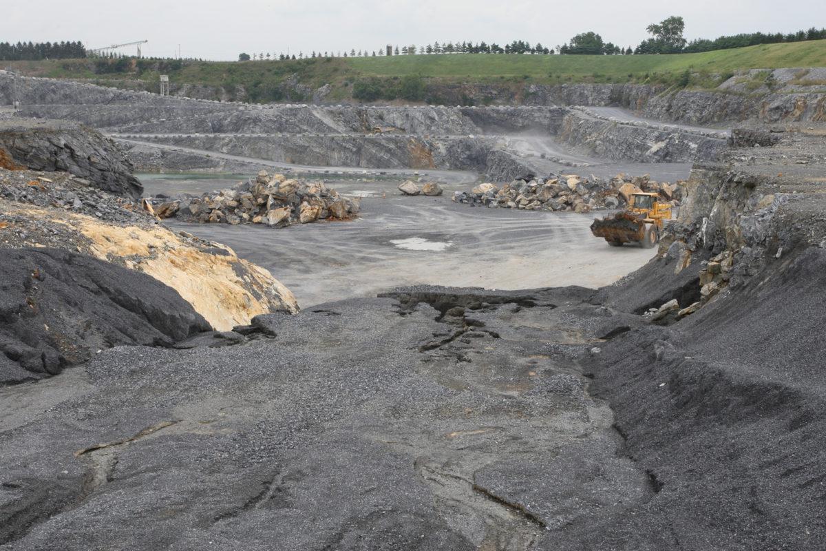 quarry-floor